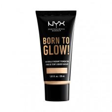NYX Professional Makeup Тональная основа с эффектом естественного сияния BORN TO GLOW NATURALLY RADIANT FOUNDATION