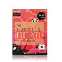 "OH K! WATERMELON PINK FOOT PEEL Маска отшелушивающая для гладкости и мягкости кожи ""Арбуз и цитрус"""