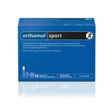 Orthomol Sport Витаминный комплекс 30 таблеток + 30 капсул (omega-3) + 30 питьевых бутылочек по 20 мл (Orthomol, Для мужчин)