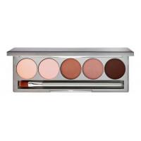 Палетка минеральных теней для век и бровей Eye & Brow Palette 9,5г