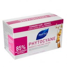 Phyto Фитоциан средство против выпадения и старения волос у женщин 12 ампул (Phyto, Phytocyane)