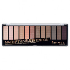 RIMMEL Тени для век Magnif'Eyes Eyeshadow Wonder Gaze Nude Edition