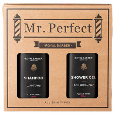 "ROYAL BARBER Набор для ухода за телом и волосами ""MR. PERFECT"""