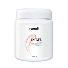 ruNail, Камуфлирующий UV-гель, чайная роза, 1000 г