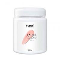 ruNail, Камуфлирующий UV-гель, нежный лепесток, 1000 г