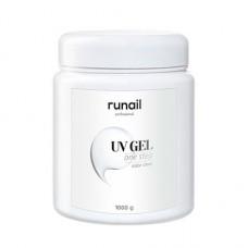 ruNail, UV-гель однофазный, прозрачный, 1000 г