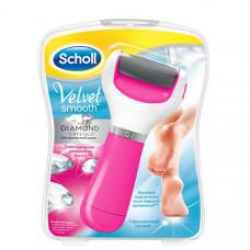SCHOLL Электрическая роликовая пилка (розовый цвет)