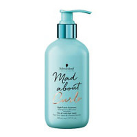 SCHWARZKOPF PROFESSIONAL Очищающий крем-шампунь для тонких, нормальных и жестких волос Mad About Curls 300 мл
