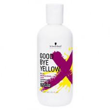 SCHWARZKOPF PROFESSIONAL Высокопигментированный нейтрализующий шампунь Goodbye Yellow 300 мл
