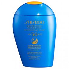 SHISEIDO Солнцезащитный лосьон для лица и тела EXPERT SUN SPF50+