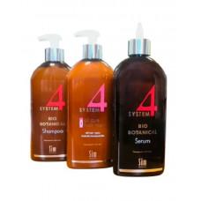 Sim Sensitive Лечебный комплекс от выпадения волос шампунь 500 мл, маска 500 мл, сыворотка 500 мл (Sim Sensitive, System 4)