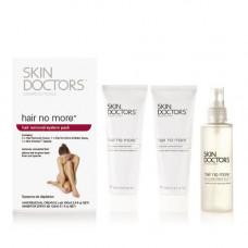 Skin Doctors Набор для удаления и замедления роста волос 3 предмета (Skin Doctors, Hair No More)