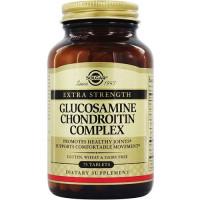 Solgar Глюкозамин-Хондроитин, для улучшения функционирования суставов и восстанавлению хрящей 75 таблеток (Solgar, Комплексы)