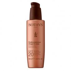 Sothys Paris Молочко с SPF20 для лица и тела, 150 мл (Sothys Paris, Sun Care)