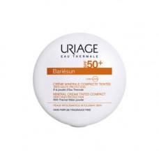 Uriage Барьесан Минеральная тональная крем-пудра SPF50+ Песочный, 10 гр (Uriage, Bariesun)