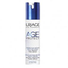 Uriage Эйдж Протект Крем-детокс многофункциональный ночной 40 мл (Uriage, Age Protect)