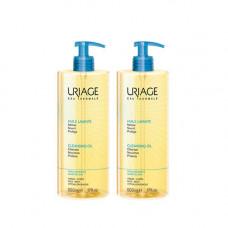 Uriage Комплект Очищающее пенящееся масло 2 шт х 500 мл (Uriage, Гигиена Uriage)