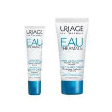 Uriage Комплект Увлажняющий крем для контура глаз, 15мл+Легкий увлажняющий крем, 40мл (Uriage, Eau thermale)