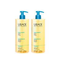 Uriage Очищающее пенящееся масло, 2х500 мл (Uriage, Гигиена Uriage)