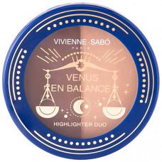 VIVIENNE SABO Палетка для скульптурирования лица Venus en Balance