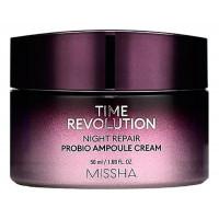 Восстанавливающий ночной крем для лица Time Revolution Night Repair Probio Ampoule Cream 50мл: Крем 50мл