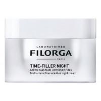 Восстанавливающий ночной крем против морщин Time-Filler Night 50мл